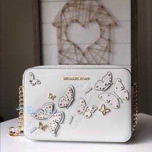 Michael Kors Butterflies Crossbody New